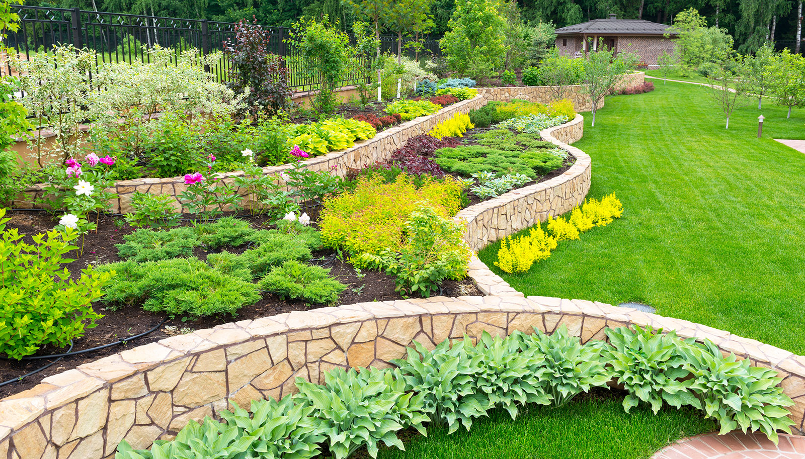 Landscaping olympia wa commercial residential for Gardening services